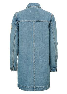 Racer vintage blue Jacket -  - Modström