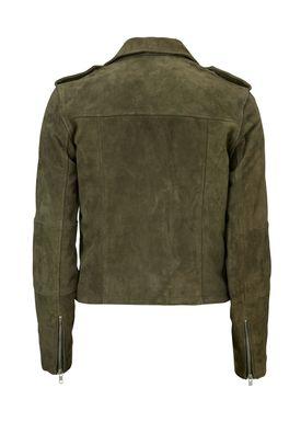 Ray suede jacket -  - Modström