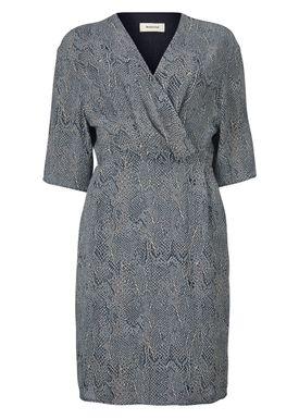 Sara print dress - Kjole - Modström