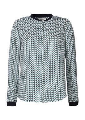 Cecilie Print Shirt - Skjorte / Bluse - Modström