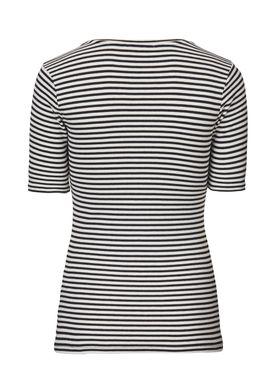 Krown stripe SS t-shirt - T-shirt - Modström