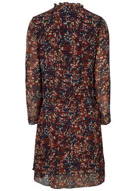 Teal LS dress -  - Modström