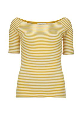 Krown stripe off shoulder top - Top - Modström