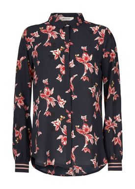 Tusha print rib shirt -  - Modström