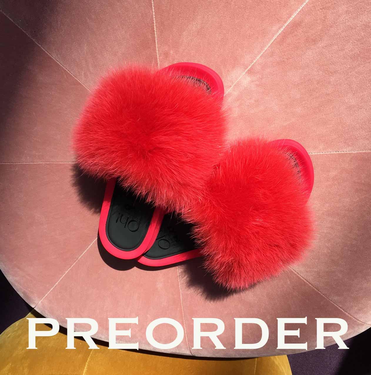 mode slippers Oh! By Kopenhagen Fur