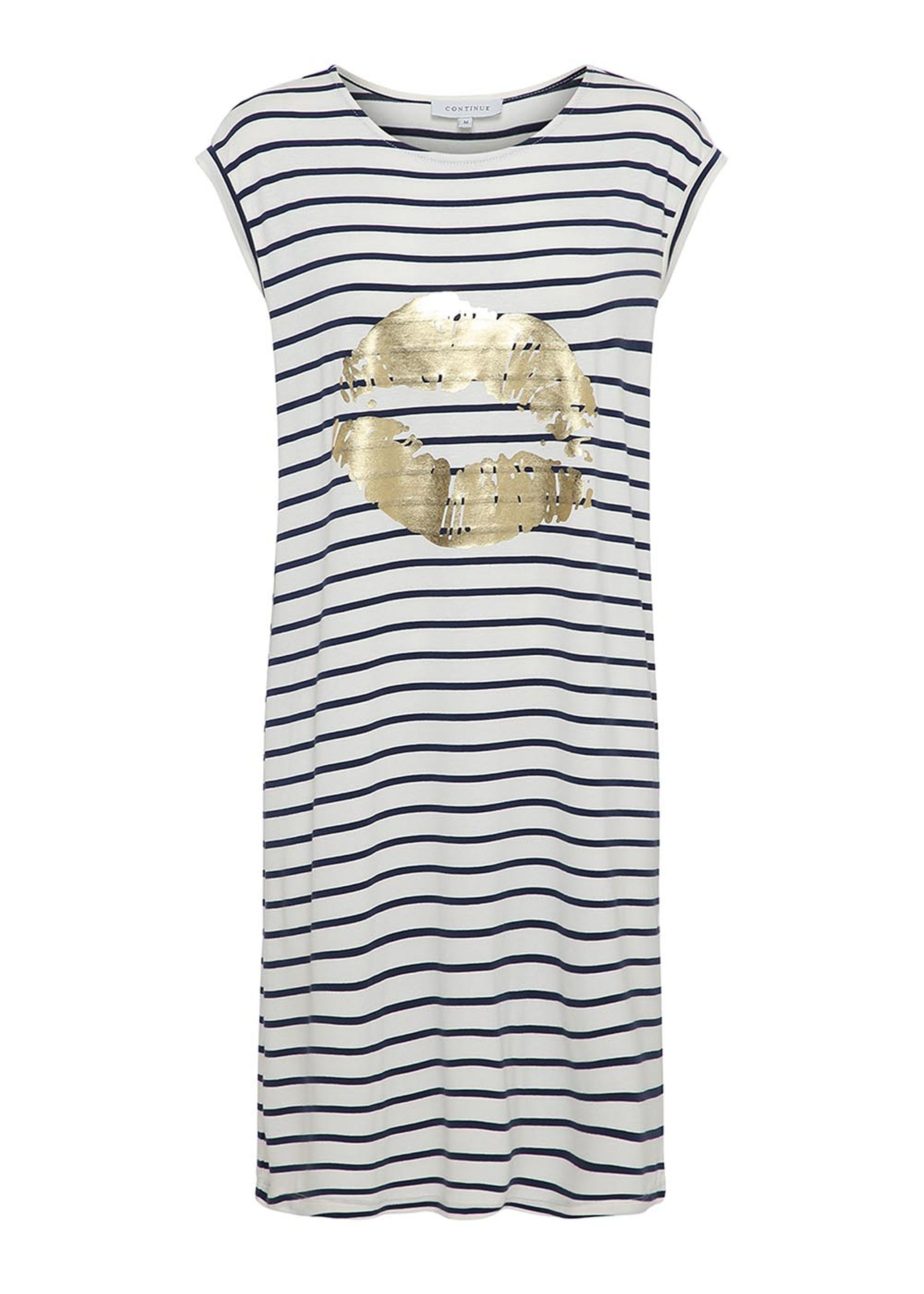 dicte dress - stribet kjole fra continue