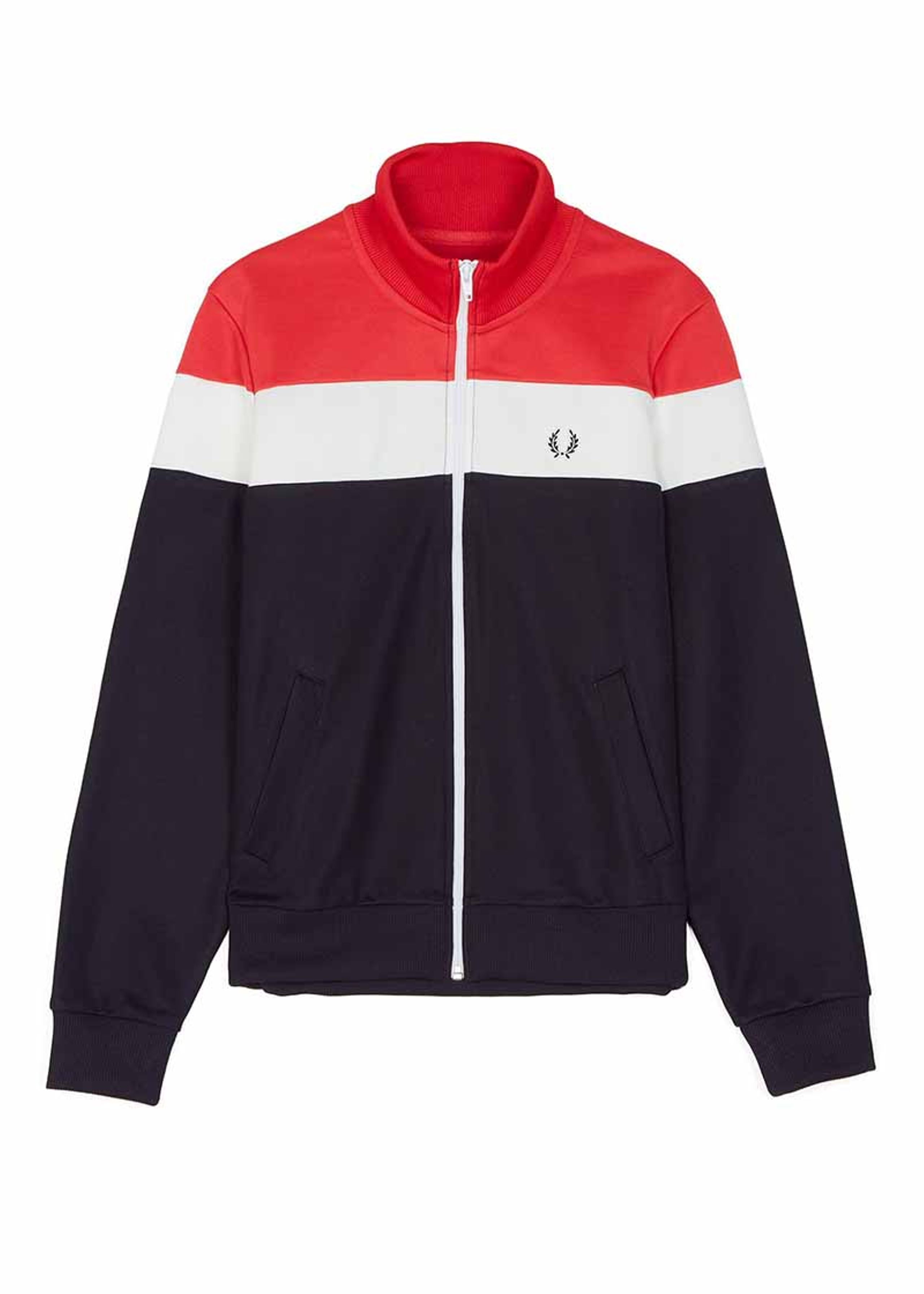 Svært Colour Block Track Jacket | Fred Perry Woman FH-57