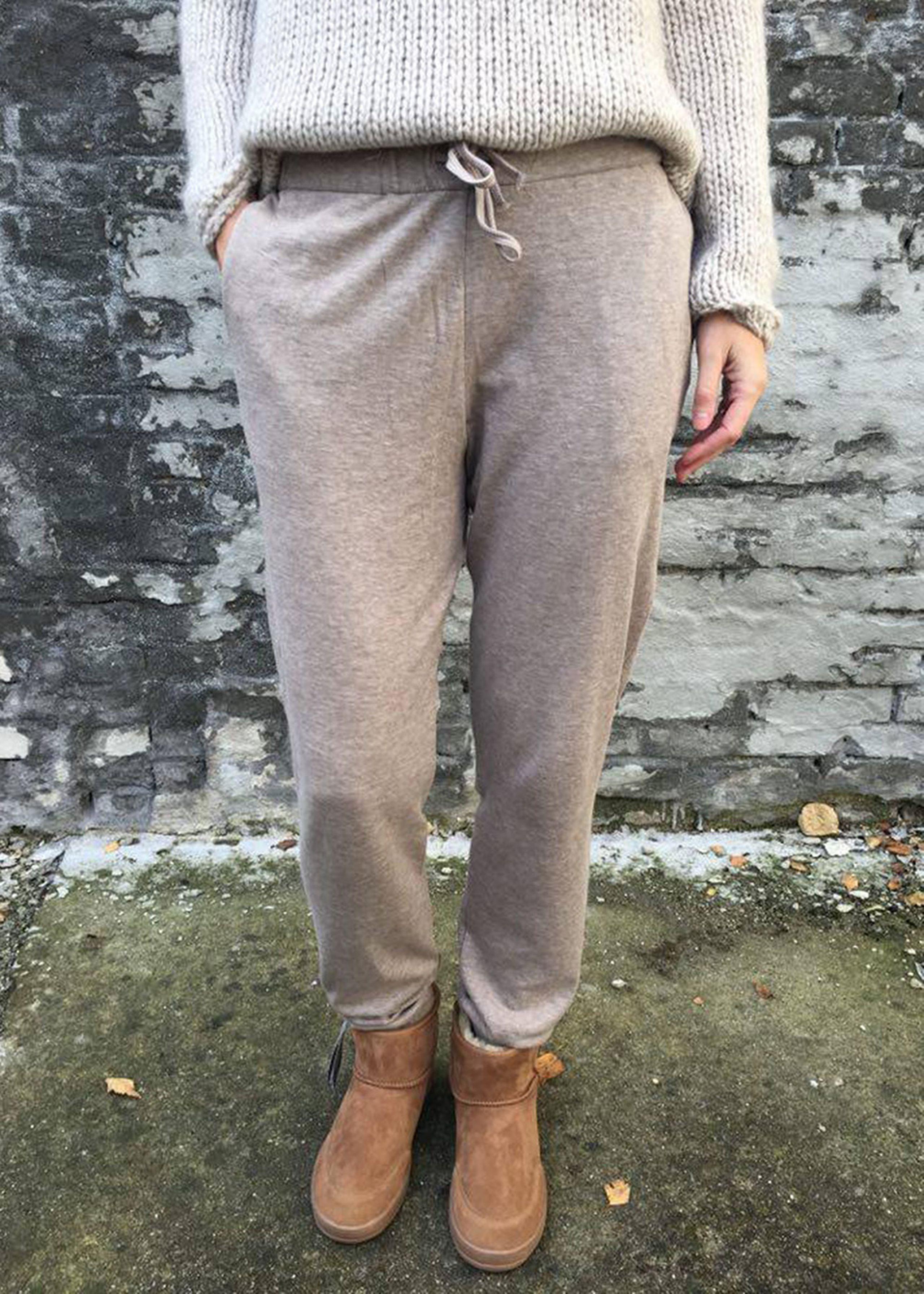 cashmere bukser fra majestic