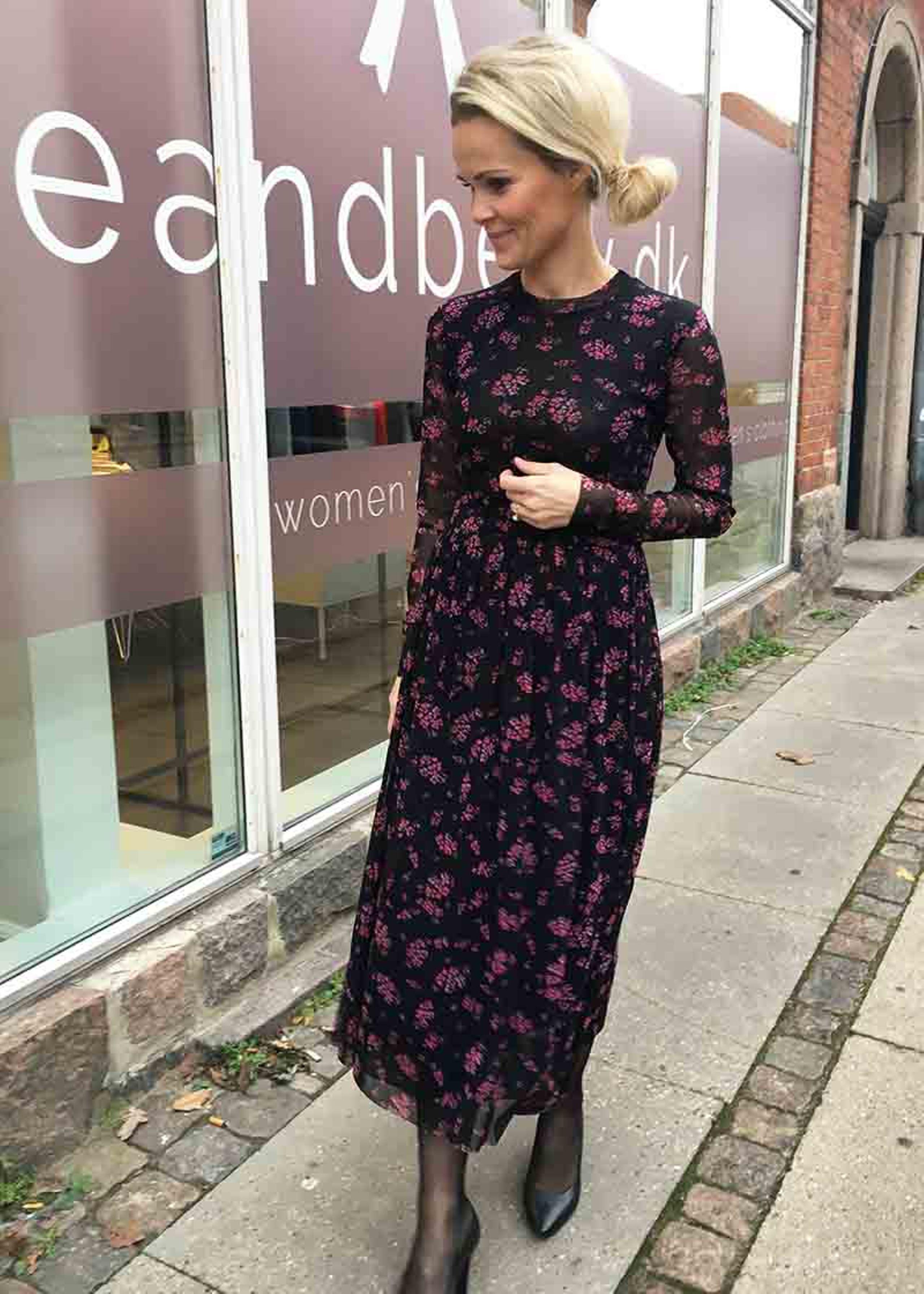 leticia printet dress