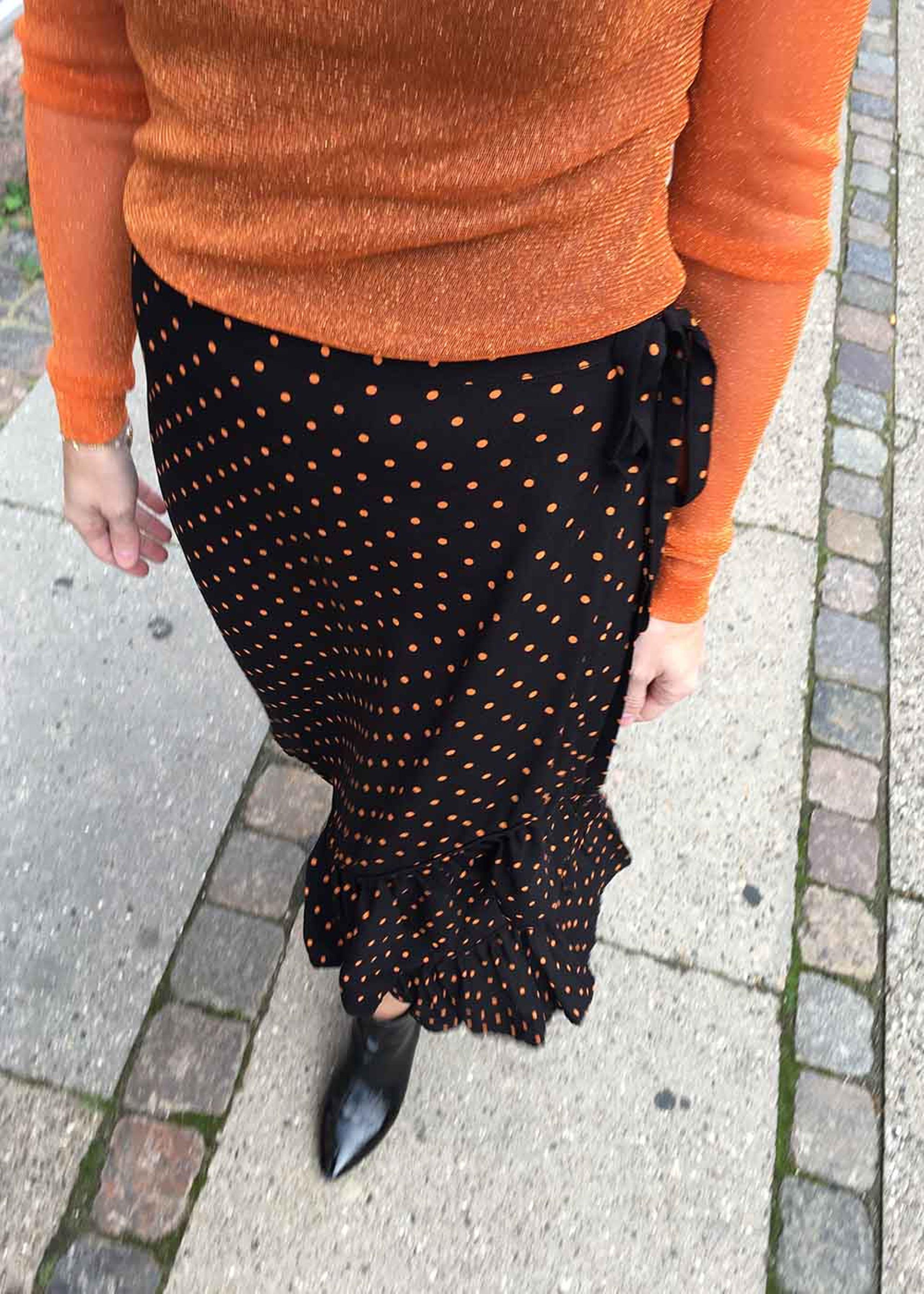 Charly skirt | Nederdel med prikker | RÈSUMÈ