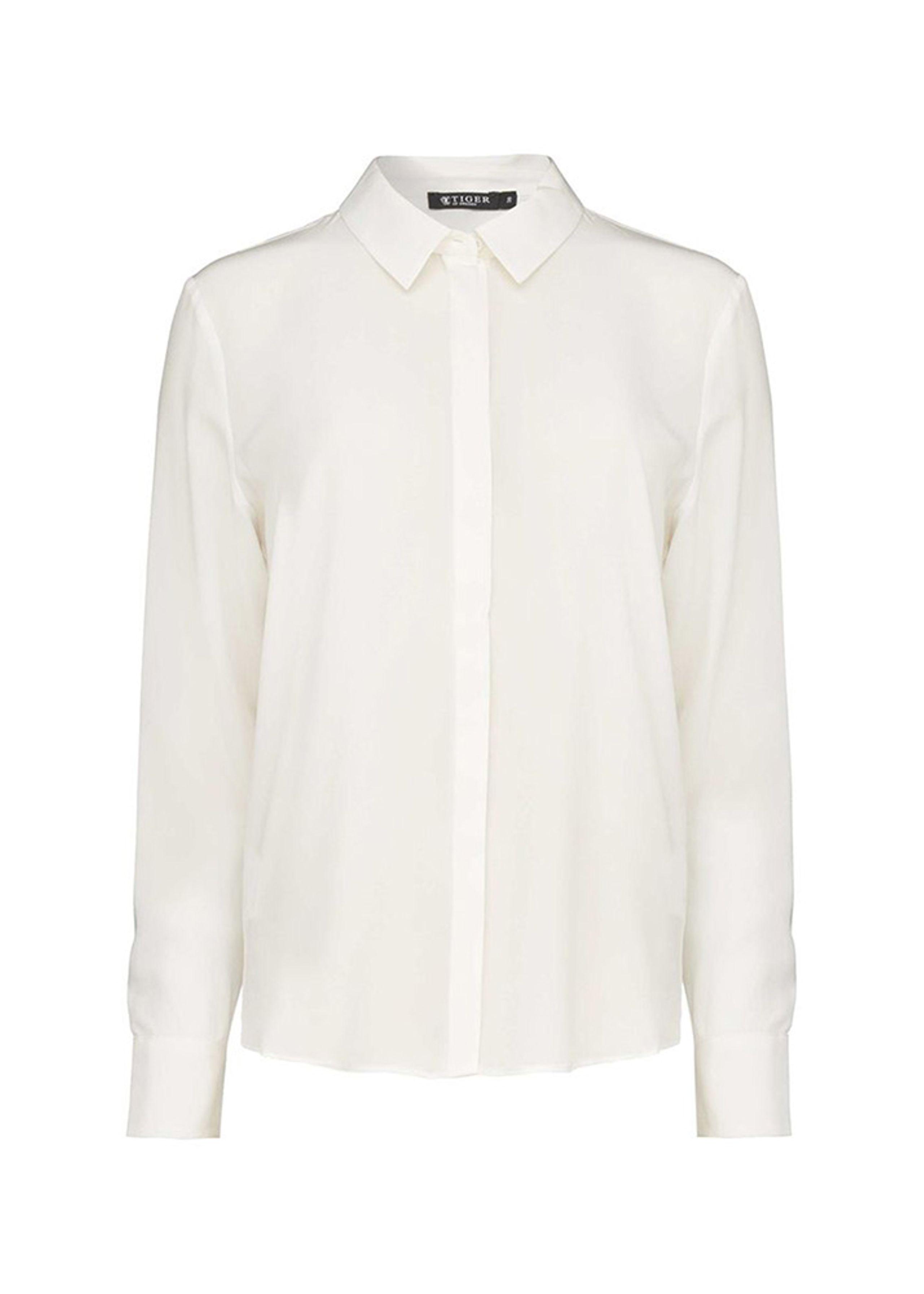 cfdf7c10933 Silwa skjorte fra Tiger of Sweden - Silkeskjorte - Hvid skjorte