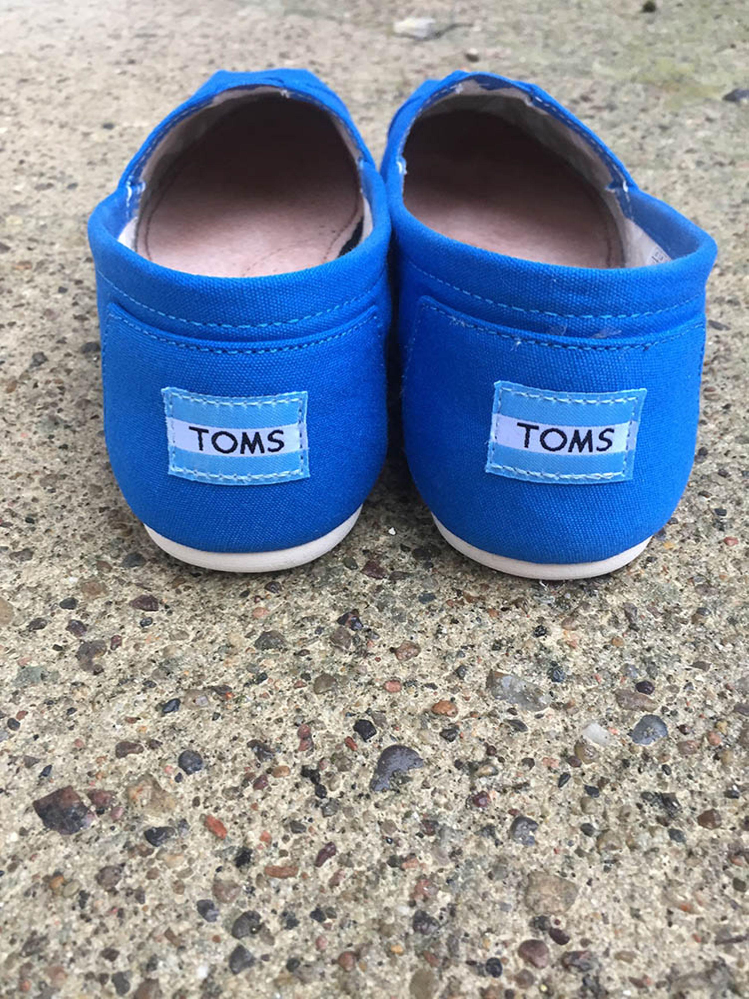da022d52908 ... Toms sko TOMS Cobalt Canvas Sko Cobalt Blå ...
