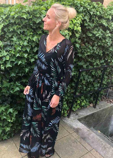 palin dress - maxi dress - kjole