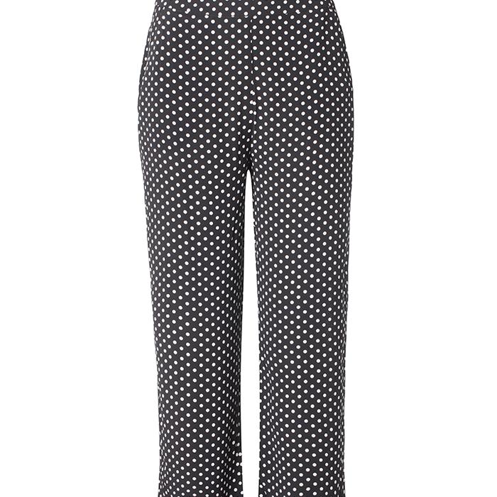 Barbette bukser fra RÈSUMÈ | Sorte bukser med hvide prikker