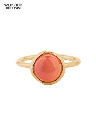 Pernille Corydon -  - Aura coral ring