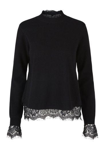 Y.A.S - Strik - Yasliva knit ls top