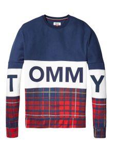 hilfiger-denim-sweatshirt-ovs-tartan-mix-cn-hknit-l-s-55-black-iris-8975384.jpeg