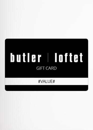 Butler-Loftet - Diverse - Gavekort