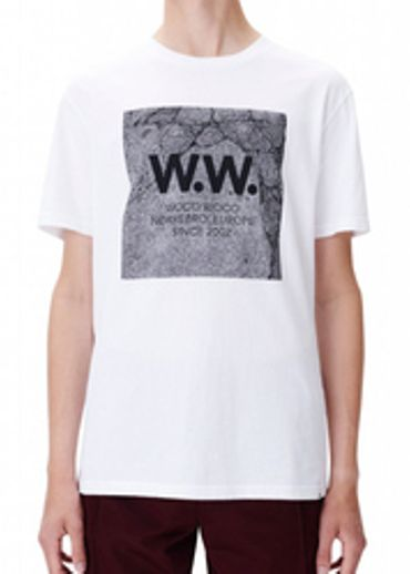 Wood Wood - T-shirt - concrete square t-shirt